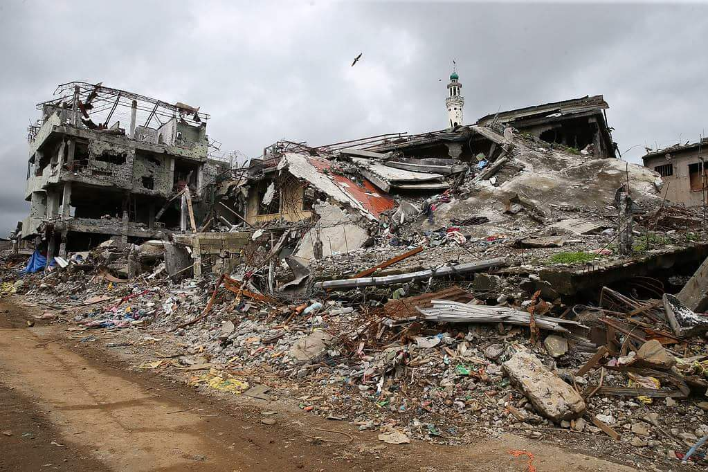 Filipinler ordusunun yıkıma uğrattığı Marawi şehri 5