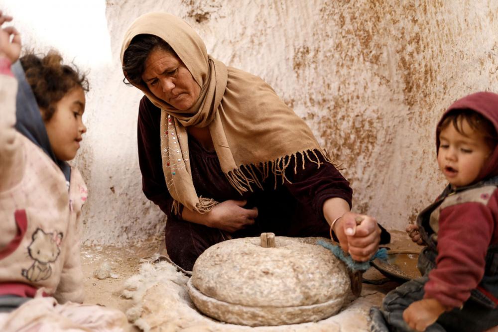 Tunus'un yeraltı evlerinde yaşayan son aileler 12