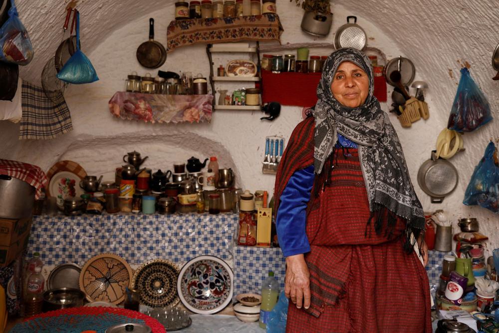 Tunus'un yeraltı evlerinde yaşayan son aileler 13