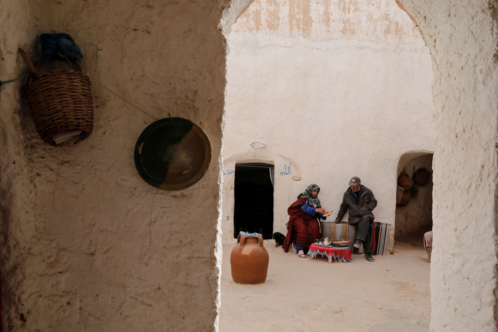 Tunus'un yeraltı evlerinde yaşayan son aileler 15