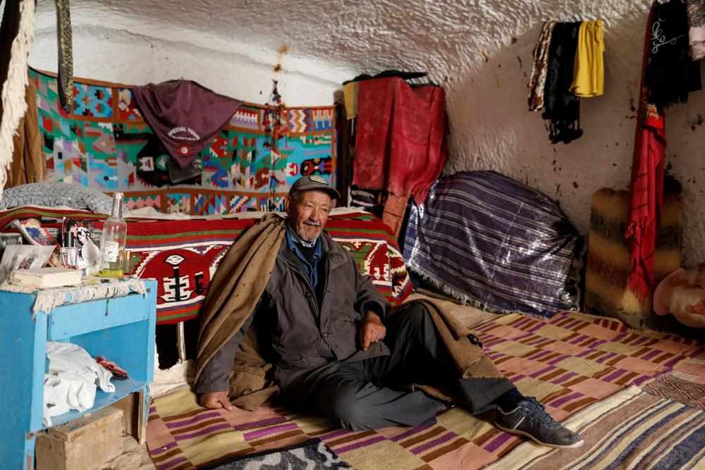 Tunus'un yeraltı evlerinde yaşayan son aileler 16