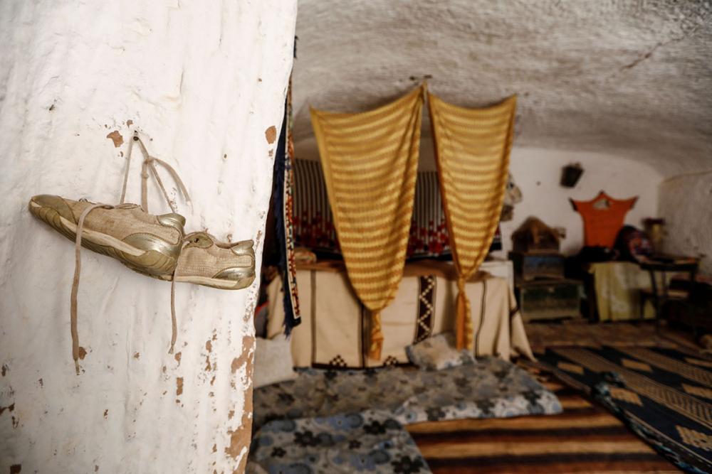 Tunus'un yeraltı evlerinde yaşayan son aileler 17
