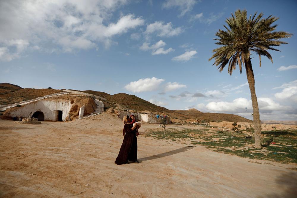 Tunus'un yeraltı evlerinde yaşayan son aileler 18