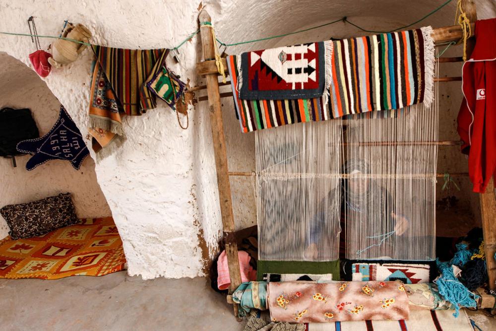 Tunus'un yeraltı evlerinde yaşayan son aileler 19