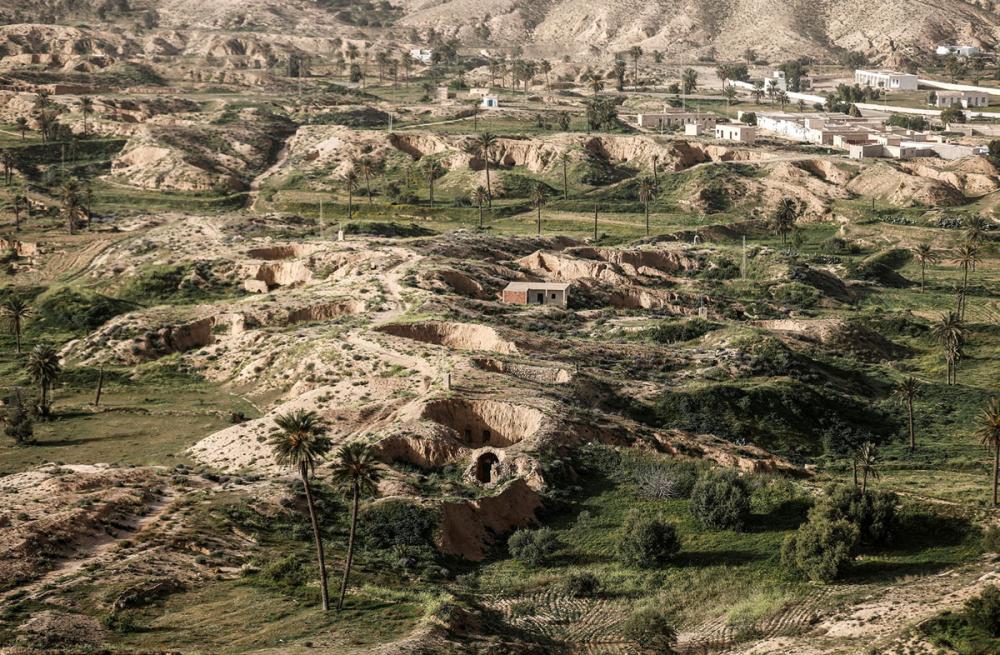 Tunus'un yeraltı evlerinde yaşayan son aileler 2