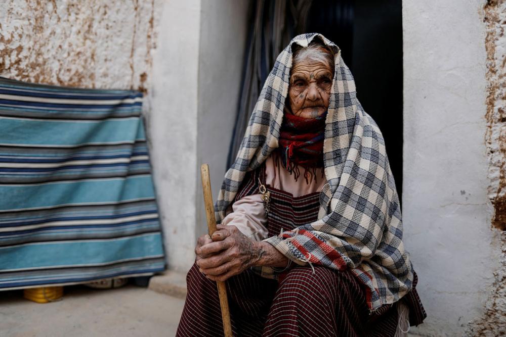 Tunus'un yeraltı evlerinde yaşayan son aileler 20
