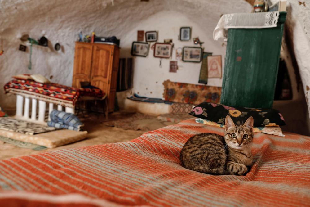 Tunus'un yeraltı evlerinde yaşayan son aileler 4