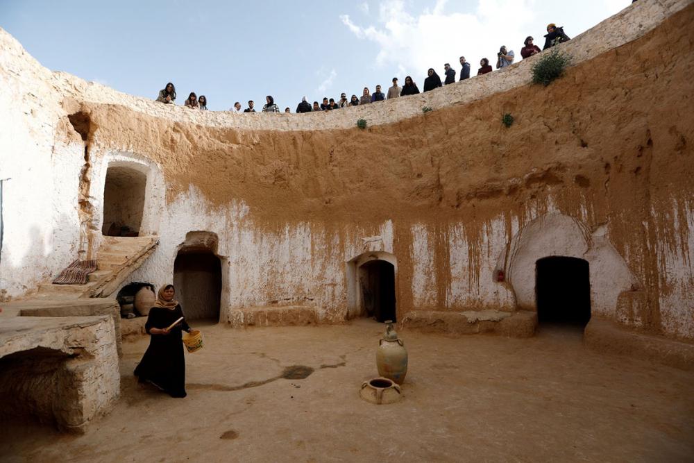 Tunus'un yeraltı evlerinde yaşayan son aileler 5