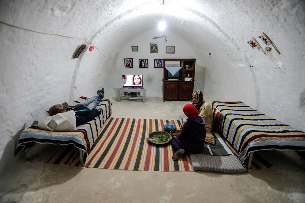 Tunus'un yeraltı evlerinde yaşayan son aileler 6