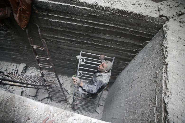 Doğu Guta'da yıkım 15