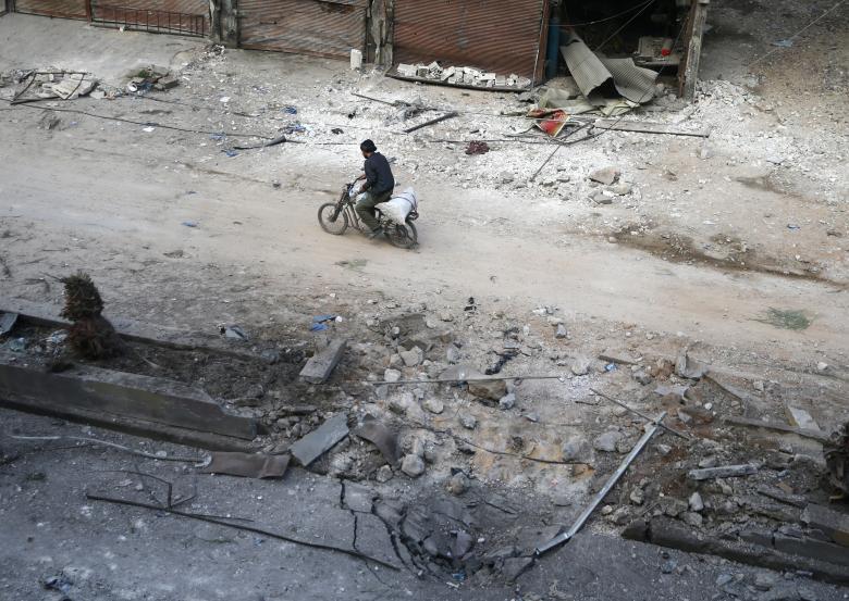 Doğu Guta'da yıkım 21