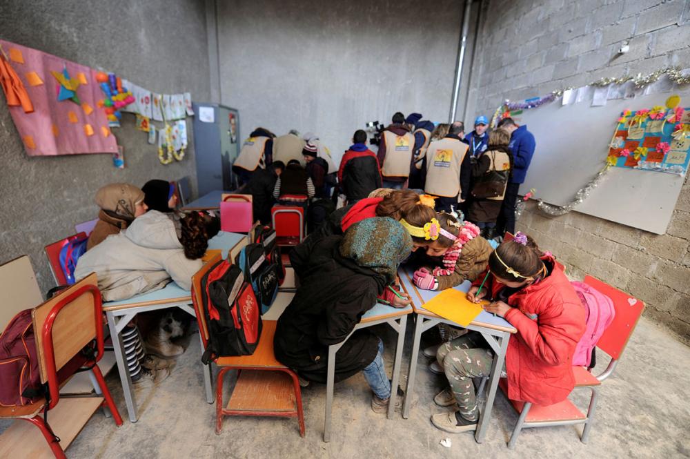 Suriye öğrencileri: Savaş alanında okula gitmek 12