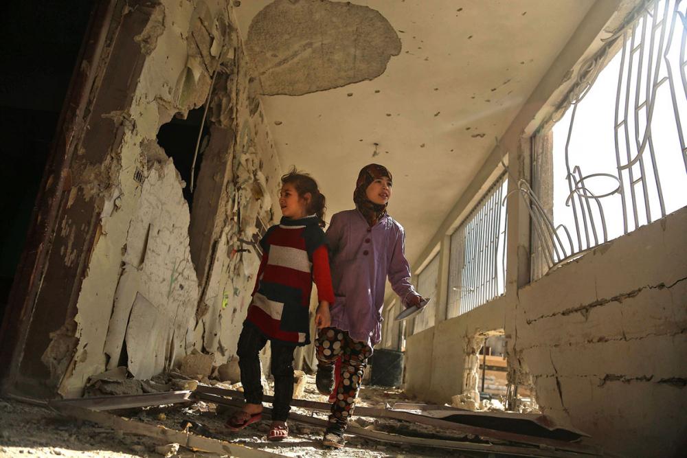 Suriye öğrencileri: Savaş alanında okula gitmek 13