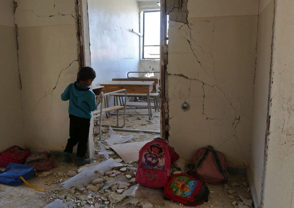 Suriye öğrencileri: Savaş alanında okula gitmek 14