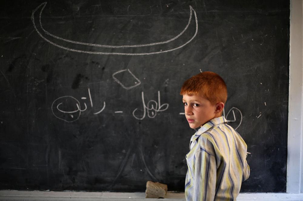 Suriye öğrencileri: Savaş alanında okula gitmek 17