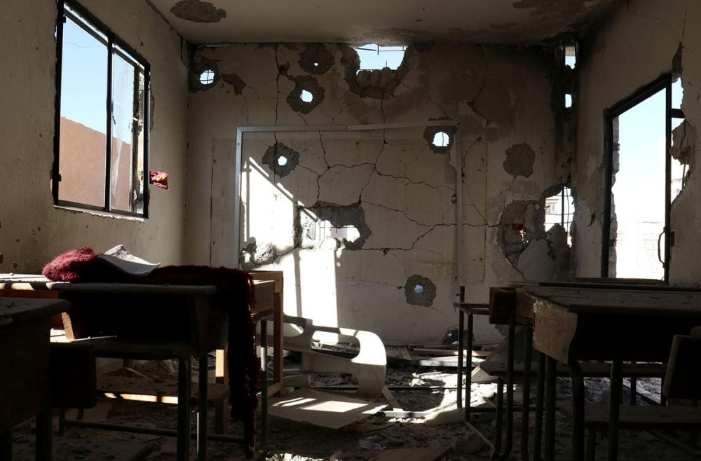 Suriye öğrencileri: Savaş alanında okula gitmek 18
