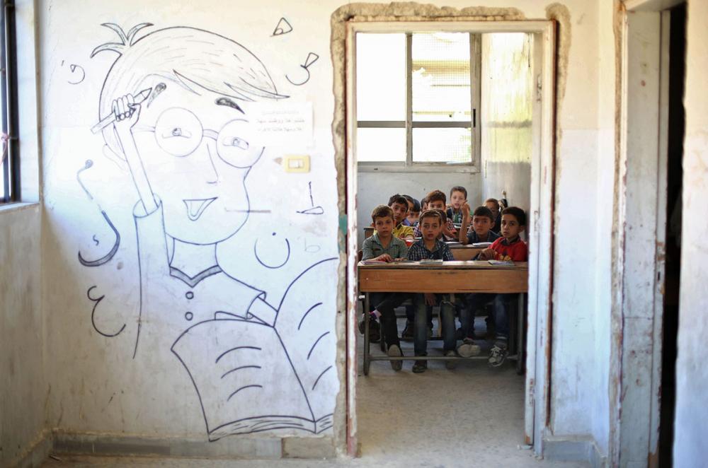 Suriye öğrencileri: Savaş alanında okula gitmek 19