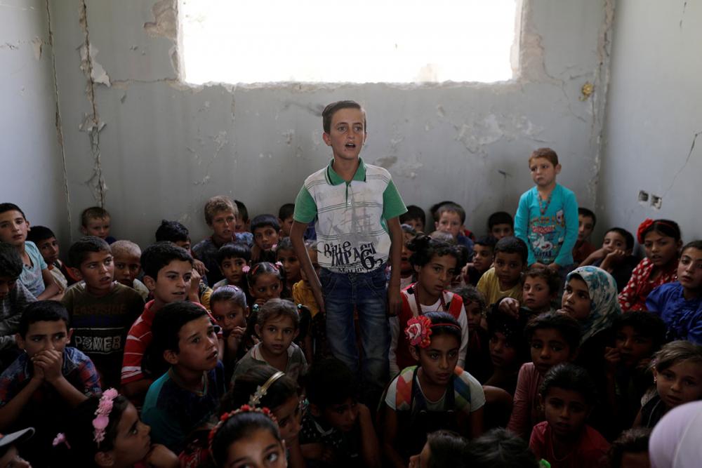 Suriye öğrencileri: Savaş alanında okula gitmek 20