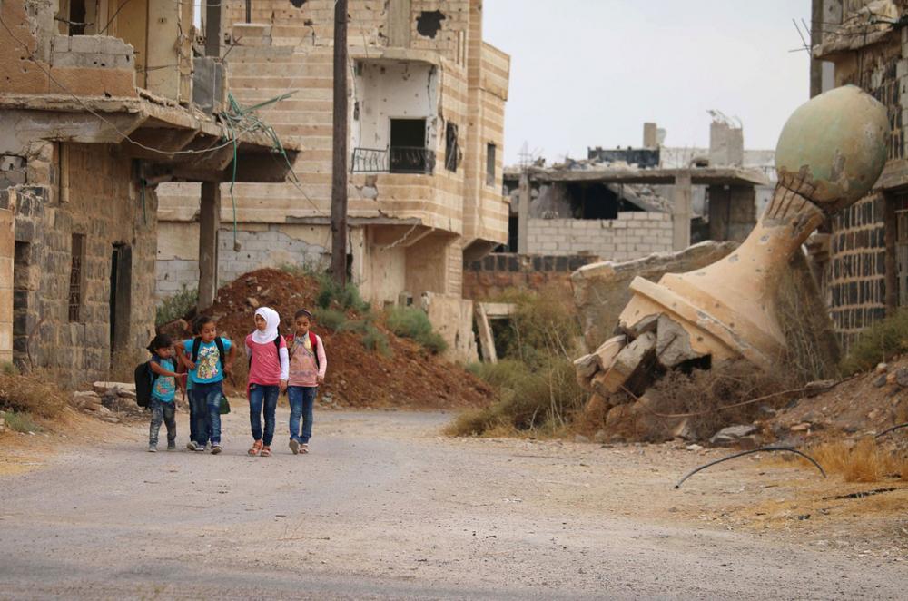 Suriye öğrencileri: Savaş alanında okula gitmek 21