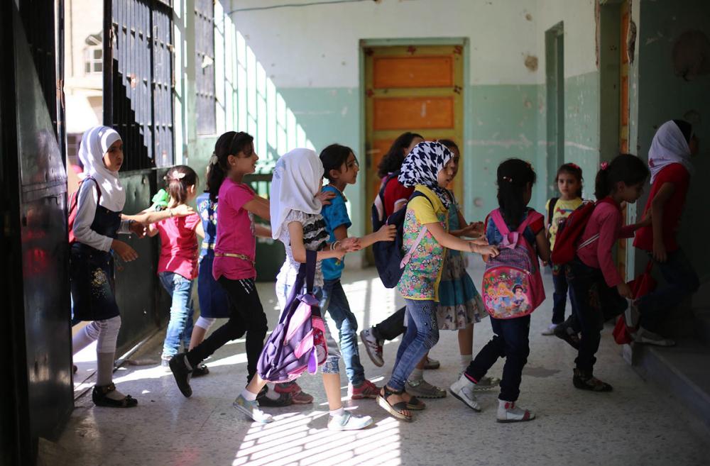 Suriye öğrencileri: Savaş alanında okula gitmek 4
