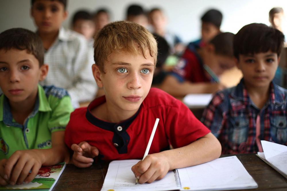 Suriye öğrencileri: Savaş alanında okula gitmek 5