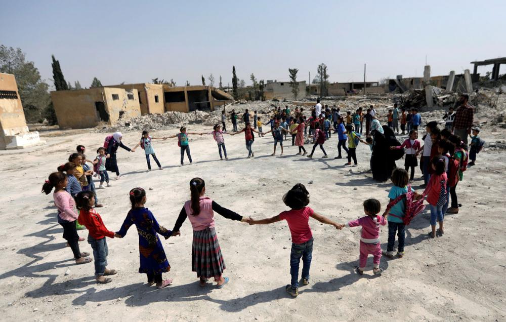 Suriye öğrencileri: Savaş alanında okula gitmek 6