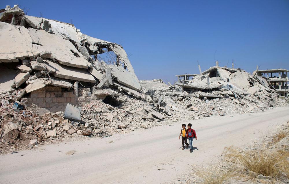 Suriye öğrencileri: Savaş alanında okula gitmek 7
