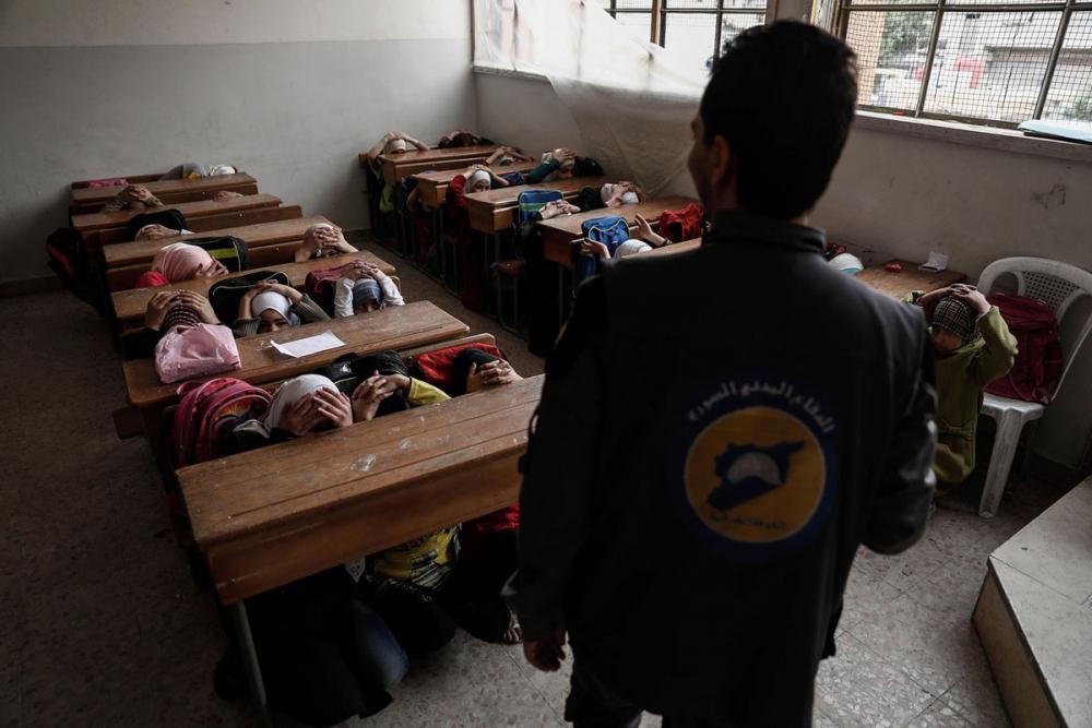 Suriye öğrencileri: Savaş alanında okula gitmek 8