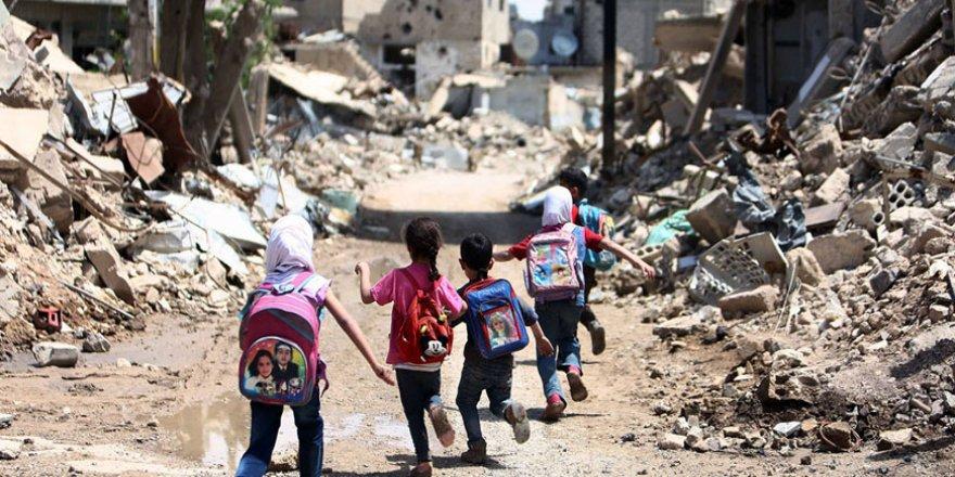 Suriye öğrencileri: Savaş alanında okula gitmek