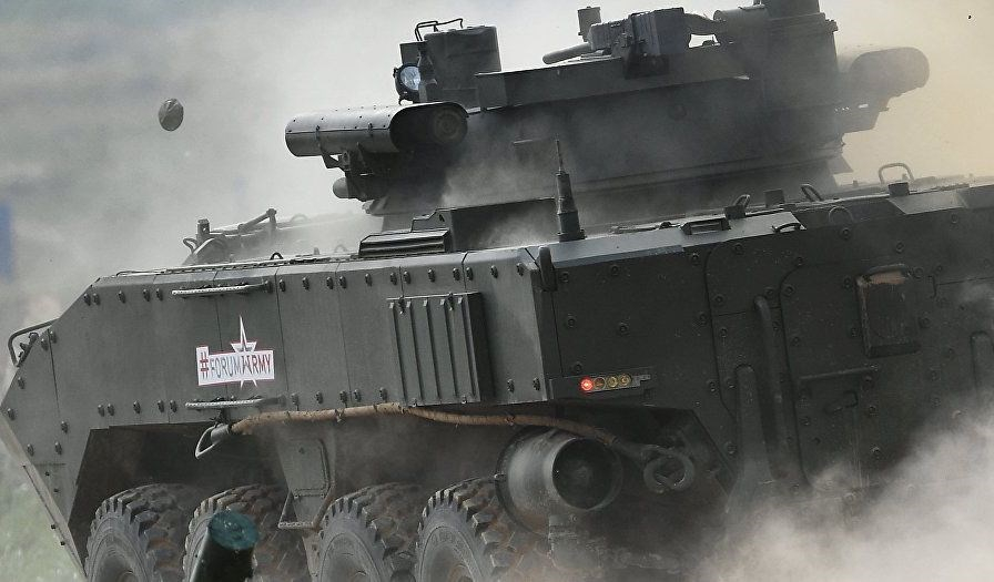 Rusya'nın yeni nesil savaş makineleri 1