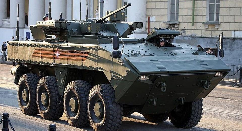 Rusya'nın yeni nesil savaş makineleri 2