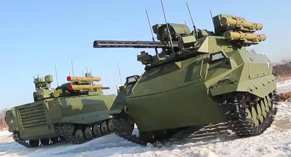 Rusya'nın yeni nesil savaş makineleri 26