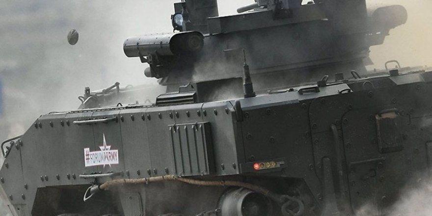 Rusya'nın yeni nesil savaş makineleri