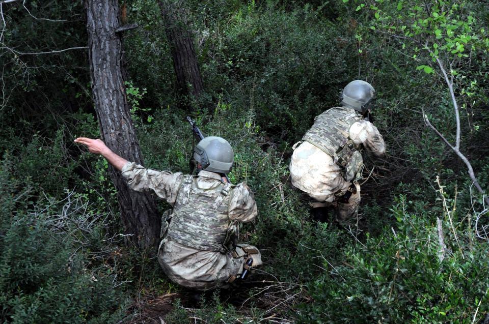 PKK sığınaklarına operasyon 10