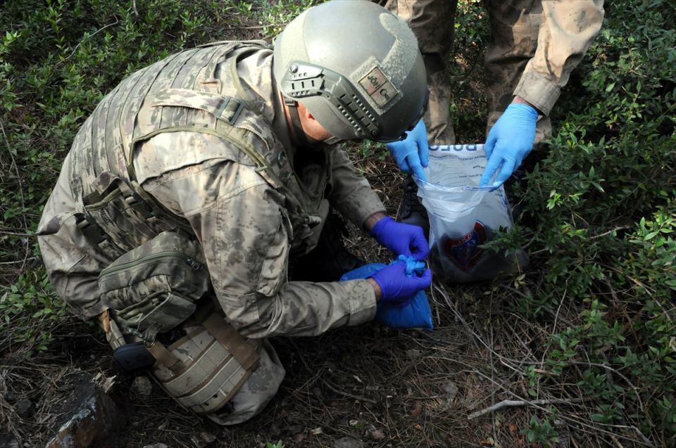 PKK sığınaklarına operasyon 14