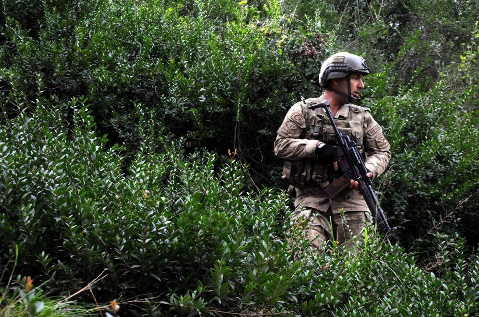 PKK sığınaklarına operasyon 18