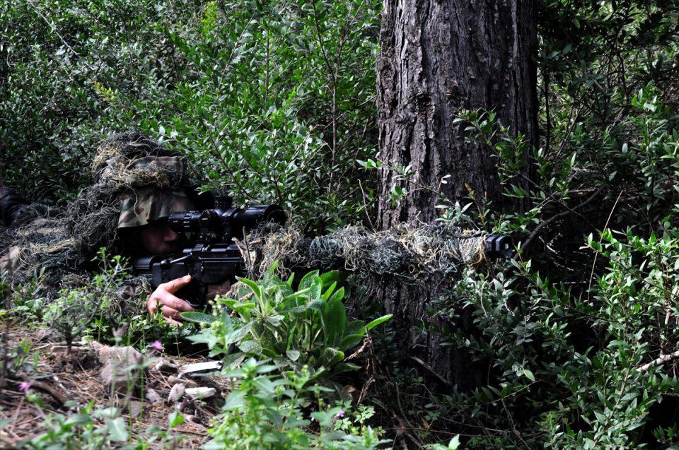 PKK sığınaklarına operasyon 22