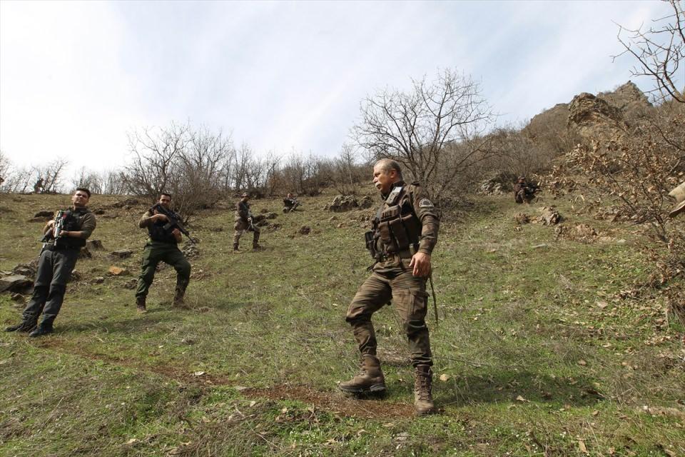 PKK sığınaklarına operasyon 4