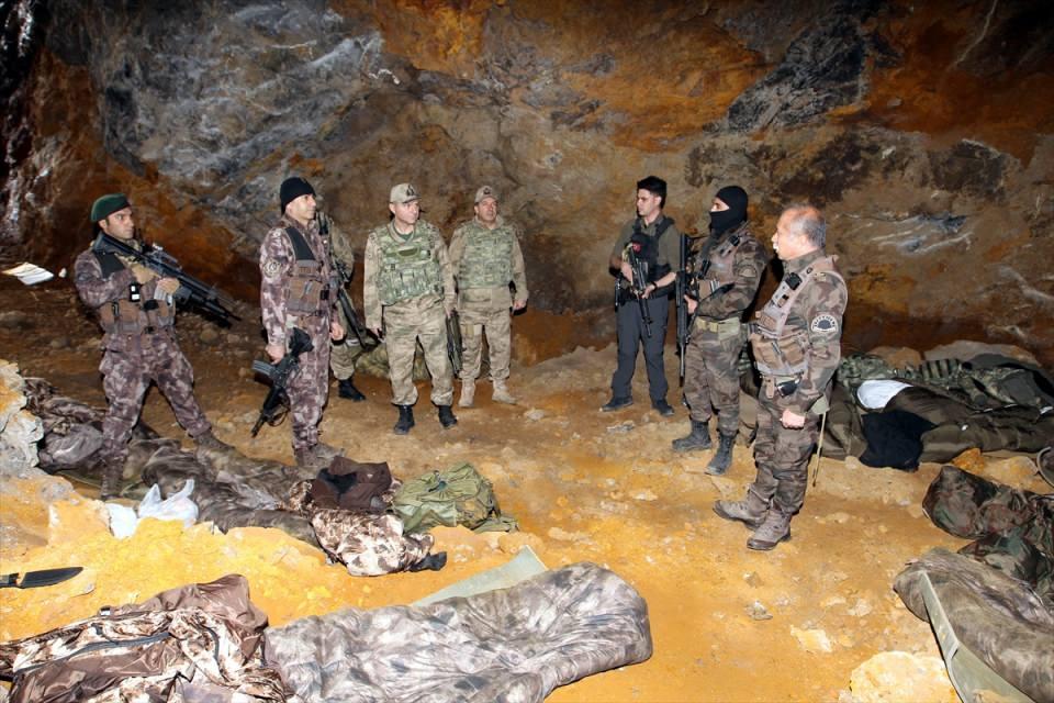 PKK sığınaklarına operasyon 6