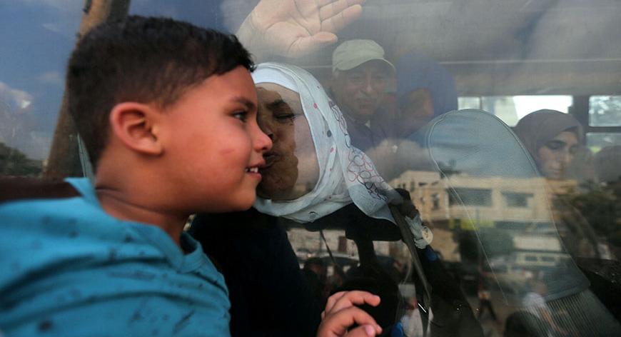 Gazze'deki 'hayata dair' insan manzaraları 1