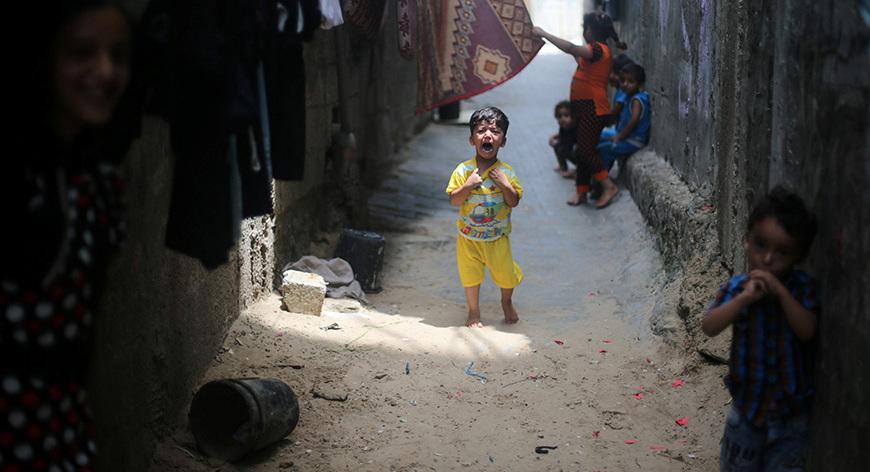 Gazze'deki 'hayata dair' insan manzaraları 11