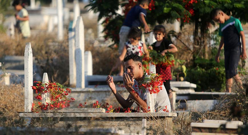 Gazze'deki 'hayata dair' insan manzaraları 15