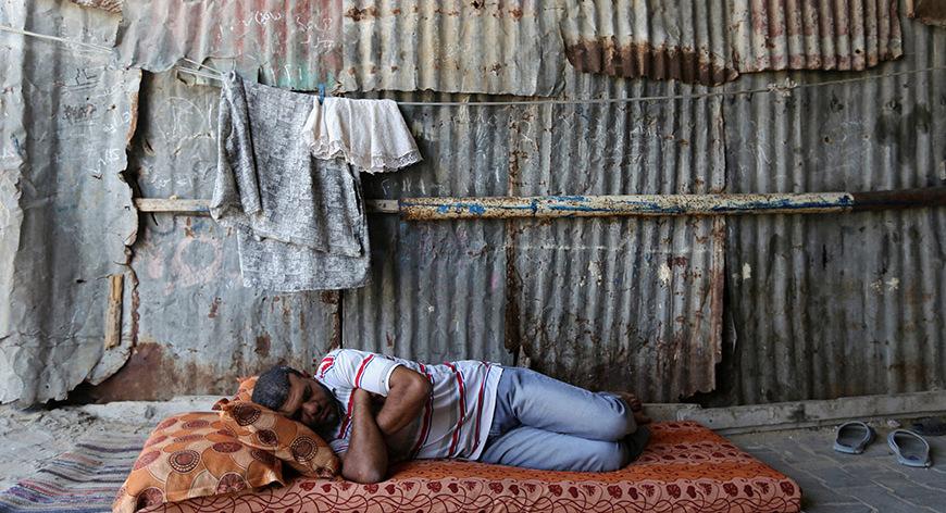Gazze'deki 'hayata dair' insan manzaraları 16