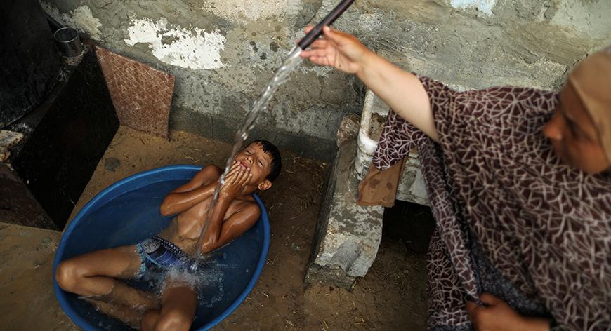 Gazze'deki 'hayata dair' insan manzaraları 3
