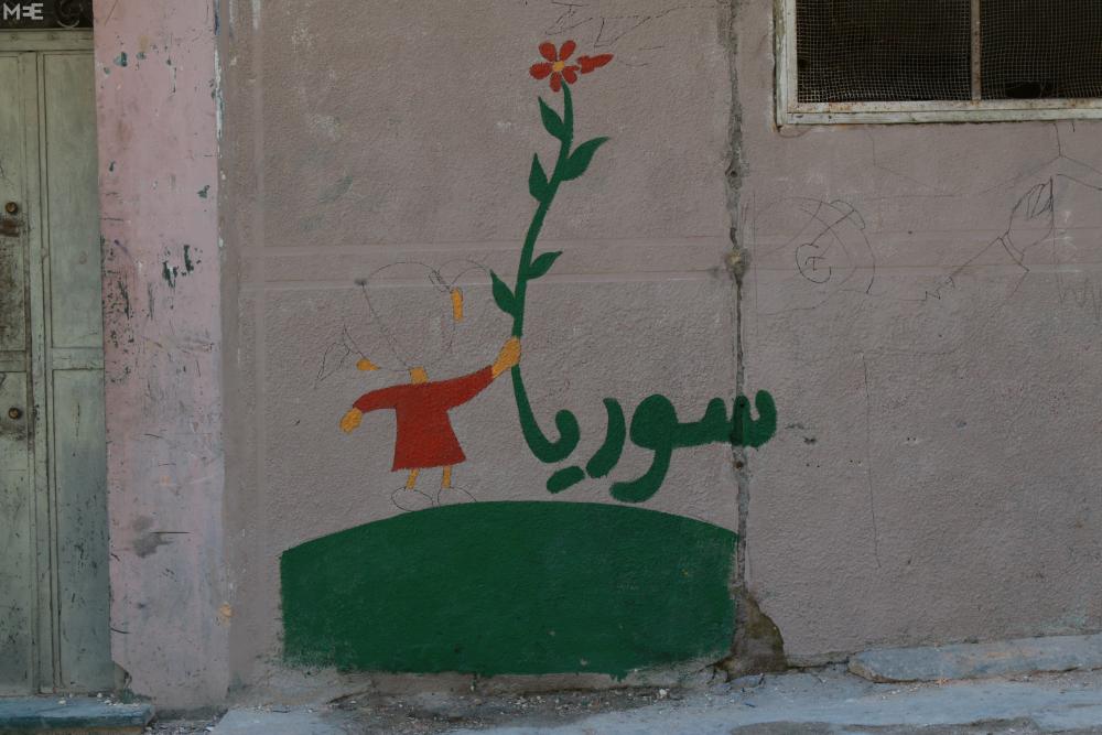 Halep'te 'devrim sanatı' 4