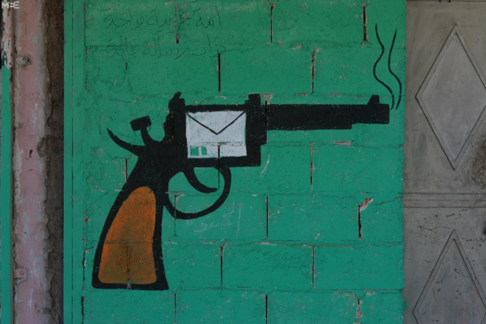 Halep'te 'devrim sanatı' 5