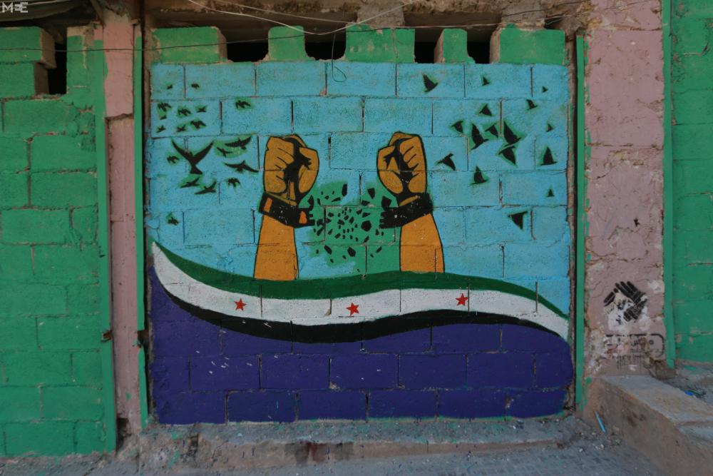 Halep'te 'devrim sanatı' 7