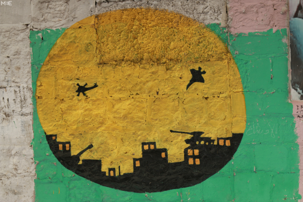 Halep'te 'devrim sanatı' 9