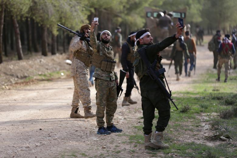 TSK destekli kuvvetlerin Suriye hamlesi 10