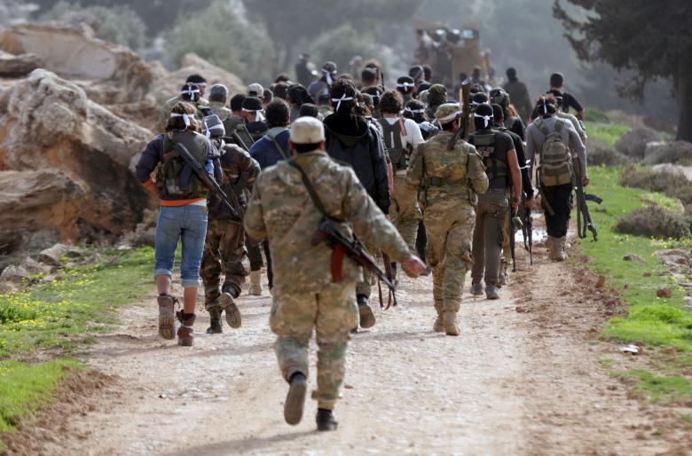 TSK destekli kuvvetlerin Suriye hamlesi 11